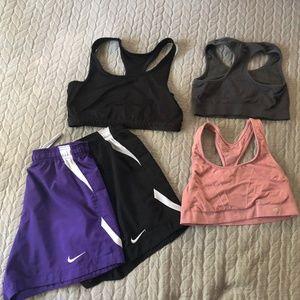 Sports Bras & Shorts